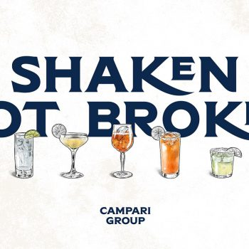 Image for the post Campari starts delivering Shaken Not Broken packages